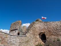 Castillo de Czorsztyn, Polonia Fotografía de archivo