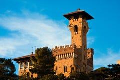 Castillo de D'Albertis Imagenes de archivo