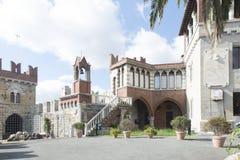 Castillo de DAlbertis, Génova, Italia Fotografía de archivo libre de regalías