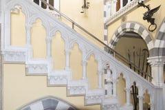 Castillo de DAlbertis, Génova, Italia Foto de archivo