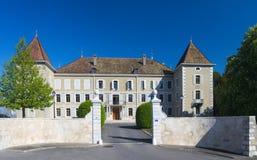 Castillo de Dardagny Imágenes de archivo libres de regalías