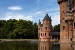 Castillo de De Haar en Países Bajos Foto de archivo libre de regalías