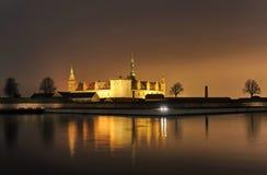 Castillo de Dinamarca Helsingor Kronborg fotografía de archivo