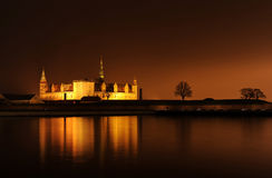 Castillo de Dinamarca Helsingor Kronborg imagenes de archivo