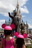 Castillo de Disney Foto de archivo libre de regalías