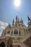 Castillo de Disney Imágenes de archivo libres de regalías