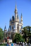 Castillo de Disney en Tokio Disneyland Foto de archivo libre de regalías