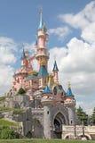 Castillo de Disneylandya París Imagen de archivo libre de regalías
