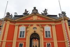 Castillo de Dobris - República Checa Fotos de archivo libres de regalías