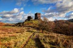 Castillo de Dolwyddelan Foto de archivo libre de regalías