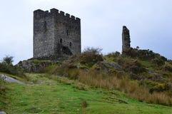Castillo de Dolwyddelan Fotografía de archivo