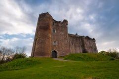 Castillo de Doune, Escocia Imagenes de archivo