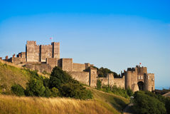 Castillo de Dover Fotografía de archivo libre de regalías