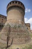 Castillo de Dozza, Emilia Romagna, Italia, junio de 2017 Fotos de archivo