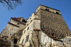 Castillo de Dracula Fotografía de archivo libre de regalías