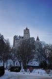 Castillo de Dracula (Vlad Tepes) en el salvado, Rumania fotografía de archivo libre de regalías