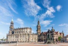 Castillo de Dresden Fotos de archivo libres de regalías