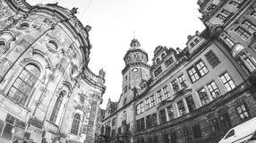 Castillo de Dresden Imagen de archivo libre de regalías