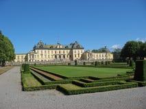 Castillo de Drottningholm (Suecia, Estocolmo) foto de archivo