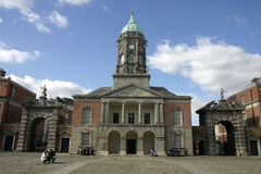 Castillo de Dublín Imágenes de archivo libres de regalías