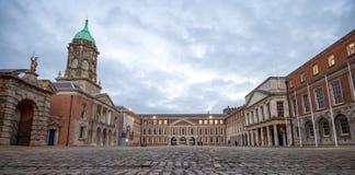 Castillo de Dublín Fotografía de archivo libre de regalías