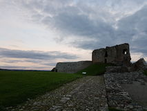 Castillo de Duffus Foto de archivo