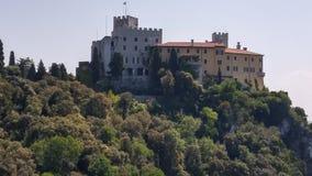 Castillo de Duino Foto de archivo libre de regalías
