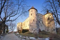 Castillo de Dunajec Imagenes de archivo