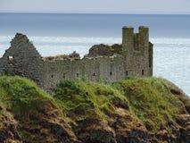 Castillo de Dunnottar en Stonehaven foto de archivo libre de regalías