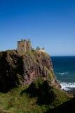 Castillo de Dunotter Foto de archivo libre de regalías