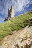 Castillo de Dunstanburgh Foto de archivo libre de regalías
