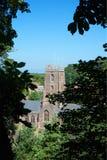 Castillo de Dunster, confianza nacional, Somerset, Reino Unido Fotografía de archivo