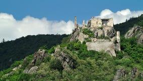 Castillo de Durnstein, Wachau, Austria Foto de archivo libre de regalías