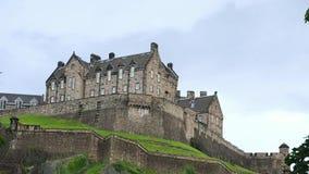 Castillo de Edimburgo, Edimburgo almacen de metraje de vídeo