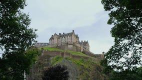 Castillo de Edimburgo, Edimburgo almacen de video