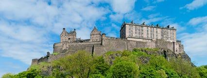 Castillo de Edimburgo Imágenes de archivo libres de regalías