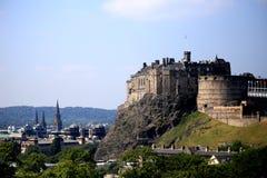 Castillo de Edimburgo Fotos de archivo libres de regalías