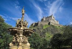 Castillo de Edimburgo imagen de archivo
