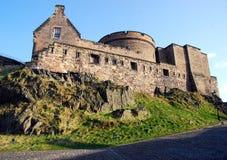 Castillo de Edimburgo Imagen de archivo libre de regalías