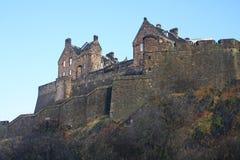 Castillo de Edimburgo en Escocia Imagen de archivo libre de regalías