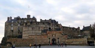 Castillo de Edimburgo, Escocia Imagen de archivo libre de regalías