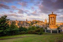 Castillo de Edimburgo, Escocia Reino Unido foto de archivo libre de regalías