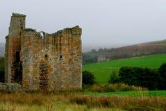 Castillo de Edlingham Imágenes de archivo libres de regalías