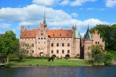 Castillo de Egeskov, Dinamarca fotos de archivo libres de regalías