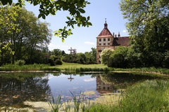 Castillo de Eggenberg en Graz, Austria Foto de archivo libre de regalías