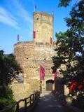 Castillo de Ehrenburg en la región de Mosela fotografía de archivo