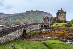 Castillo de Eilan Donan en Escocia Imagen de archivo libre de regalías