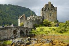 Castillo de Eilean Donan Foto de archivo libre de regalías