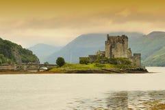 Castillo de Eilean Donan Imagen de archivo libre de regalías