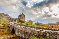 Castillo de Eilean Donan Imagenes de archivo